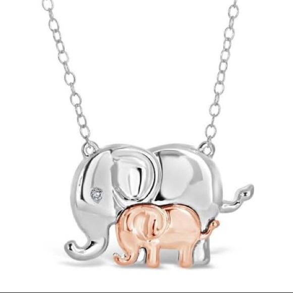 Ben Moss Elephant necklace